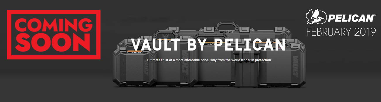 Pelican's new VAULT cases are coming soon to Al Flaherty's!