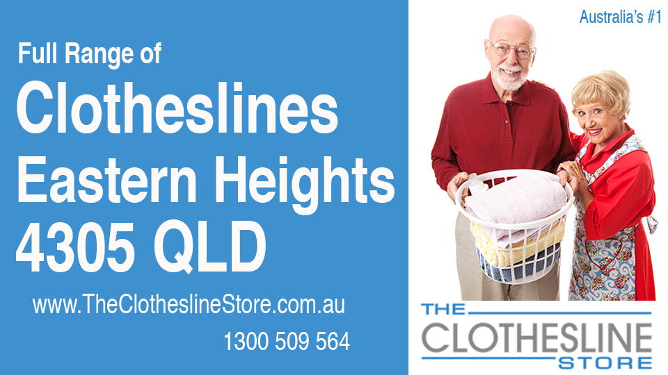 New Clotheslines in Eastern Heights Queensland 4305
