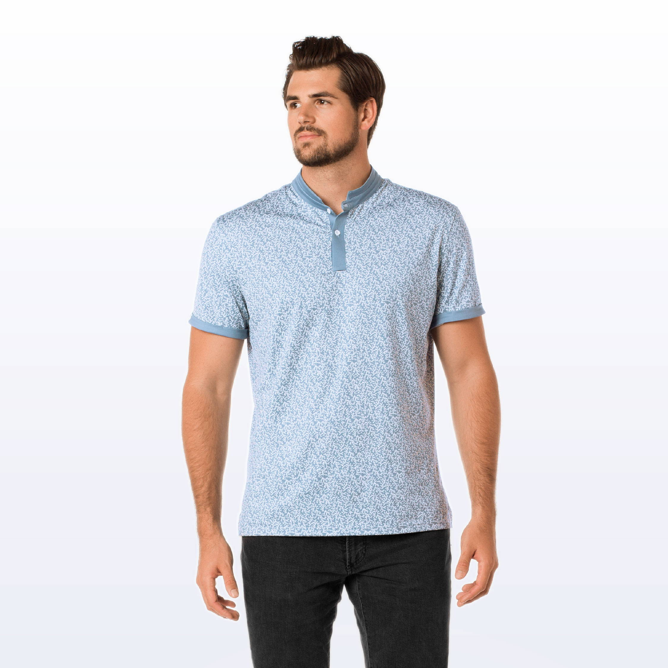 MANTRA The Coral Polo - made sustainably from repurposed materials