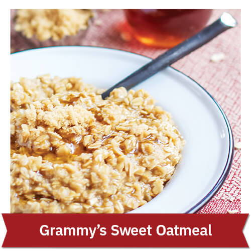 Grammy's	Sweet Oatmeal