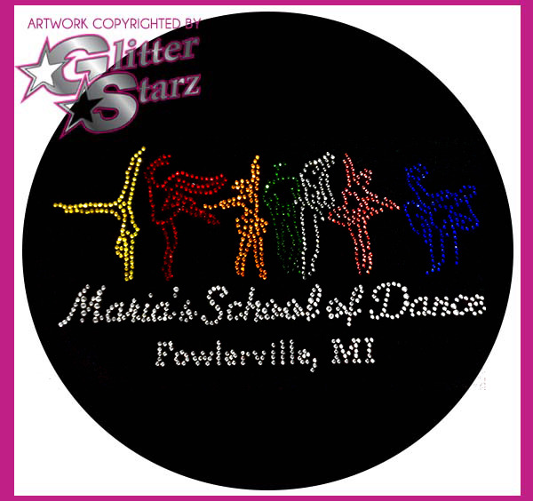 glitterstarz online webstore fundraiser  maria's school of dance