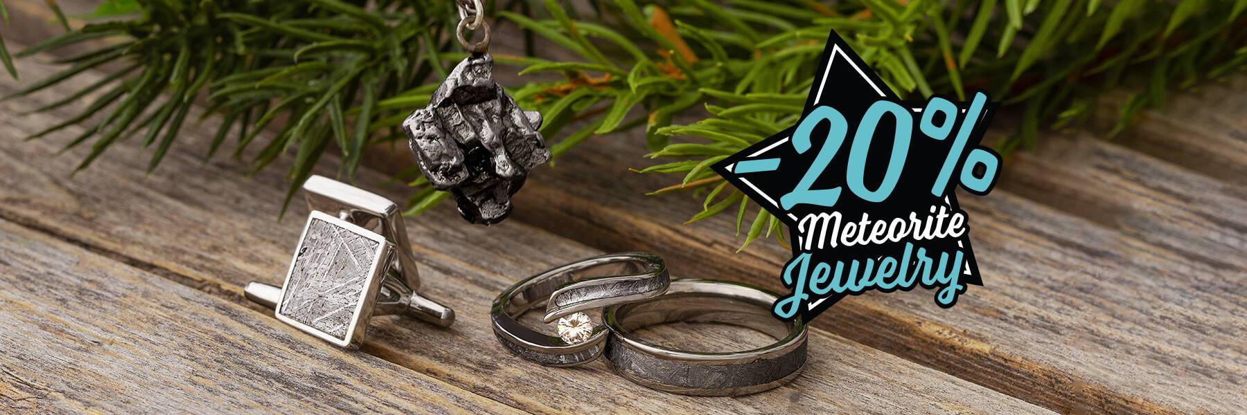 Meteorite Jewelry On Sale