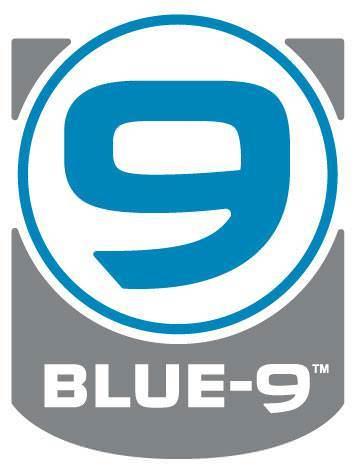Blue-9 Logo
