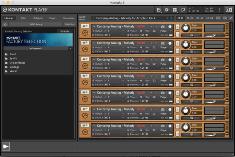 kontakt player update download