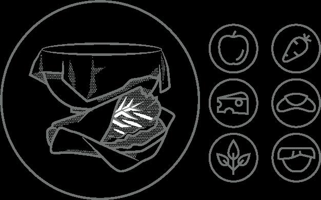 ekologický obal na potraviny peelo