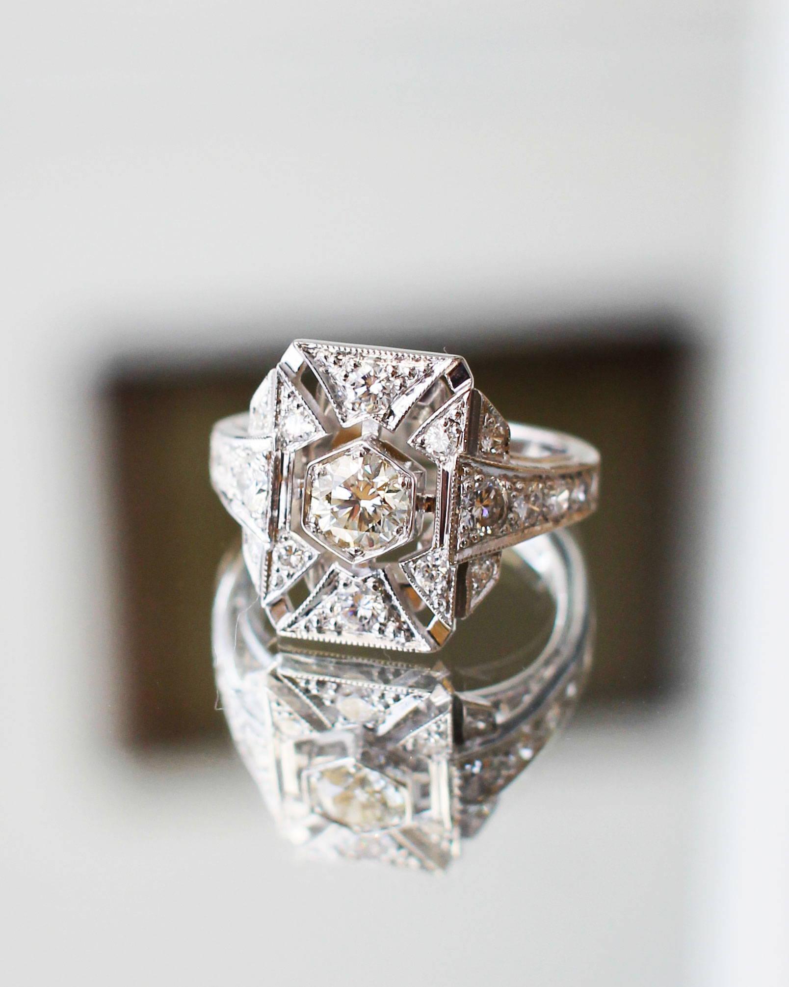 entretien bague diamant