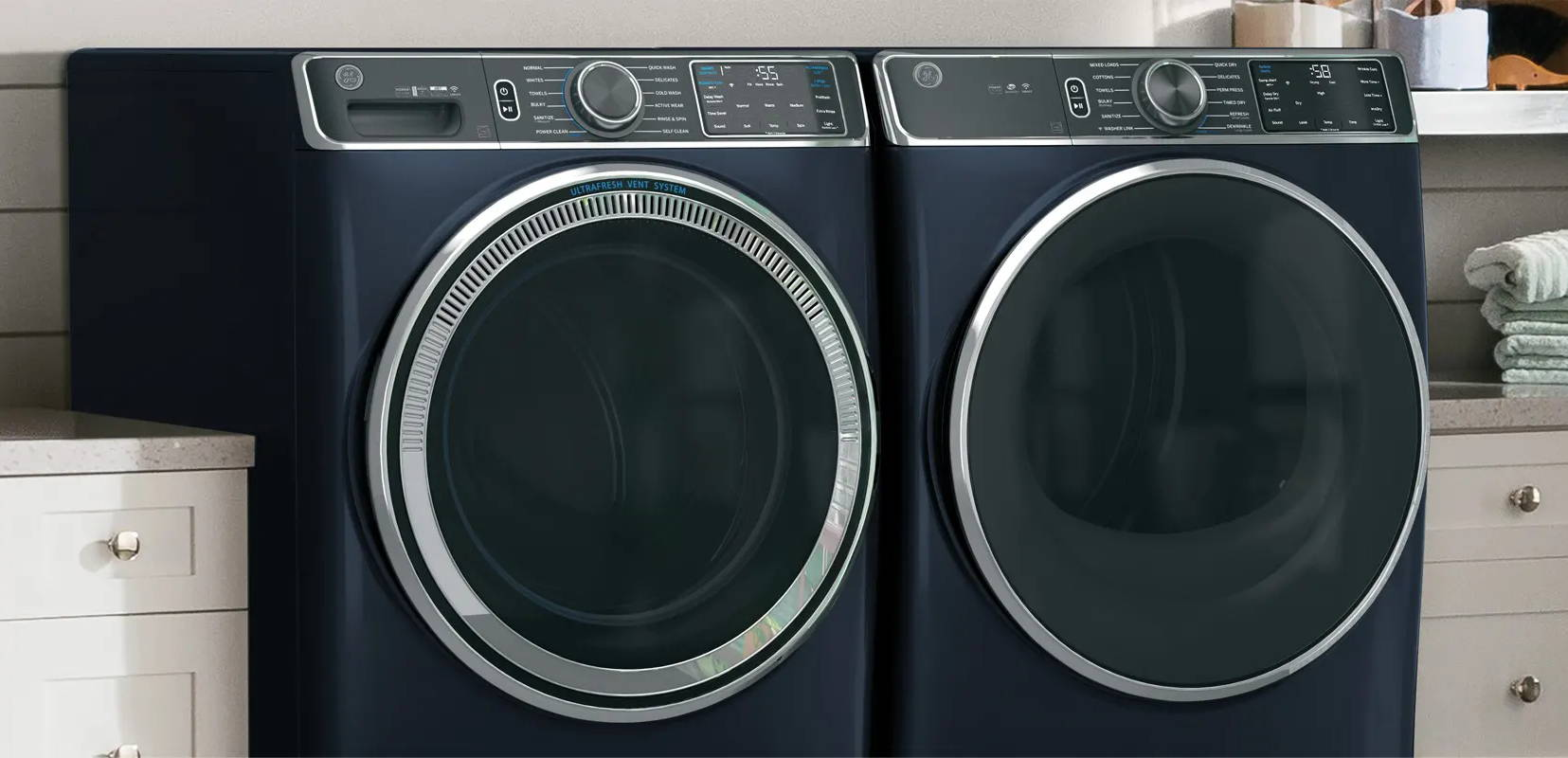 Ge Smart Washers And Dryers Ge Appliances