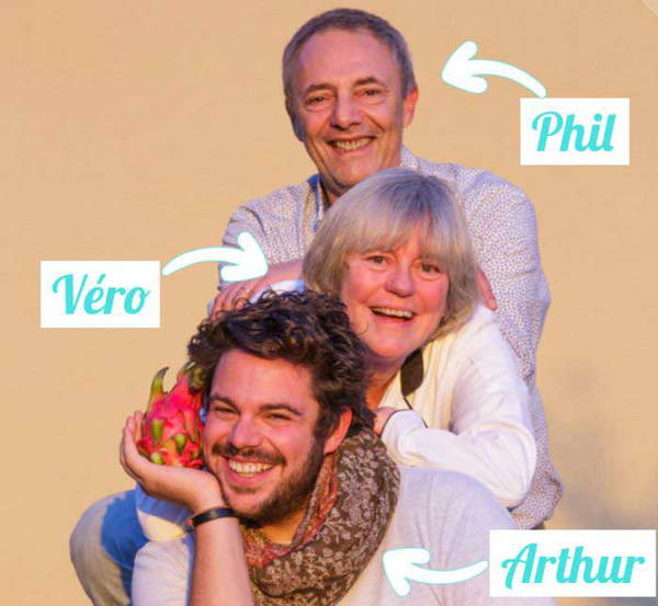famille fondatrice de La Cuisine de Véro