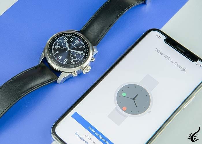 Reloj-Montblanc-Summit-2-Smartwatch-,-42-mm,-Correa-de-piel,-119440