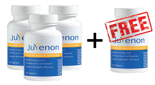 buy 3 get 1 free juvenon cellular health