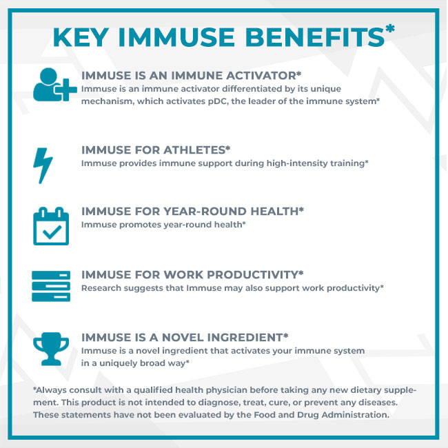 Key Immuse Benefits
