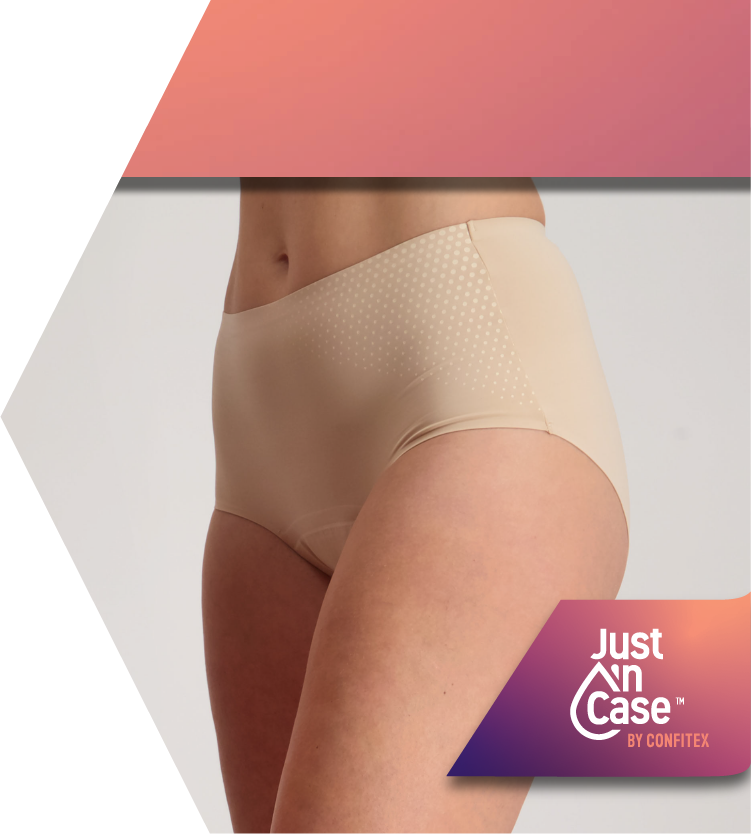 Shop Pee Panties for Light to Moderate Bladder Leakage | Just'nCase by Confitex