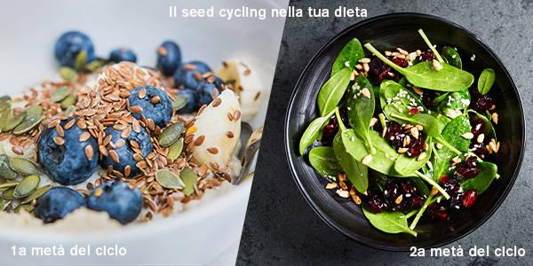 Regolare il ciclo con la seed cycling