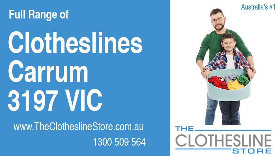 New Clotheslines in Carrum Victoria 3197