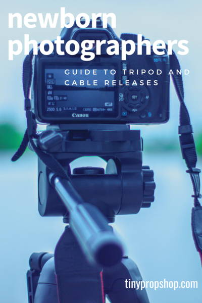 Newborn Photographer's Guide to Tripods and Cable Releases