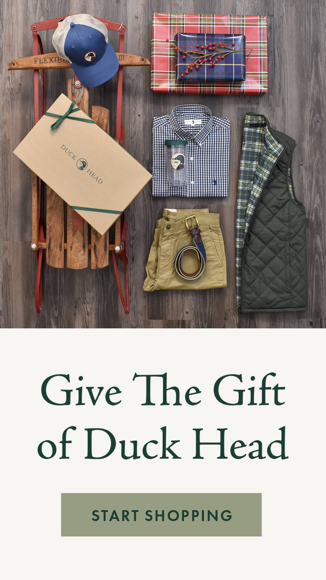 Give the Gift of Duck Head