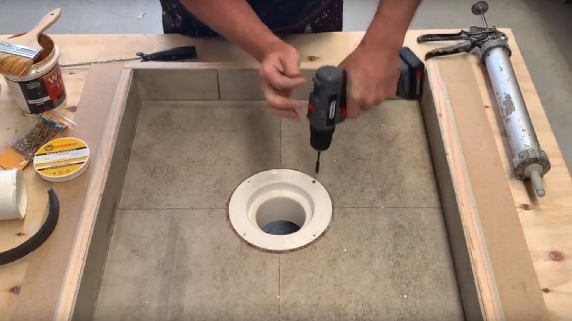 Wondercap Shower drain kits for floor waste