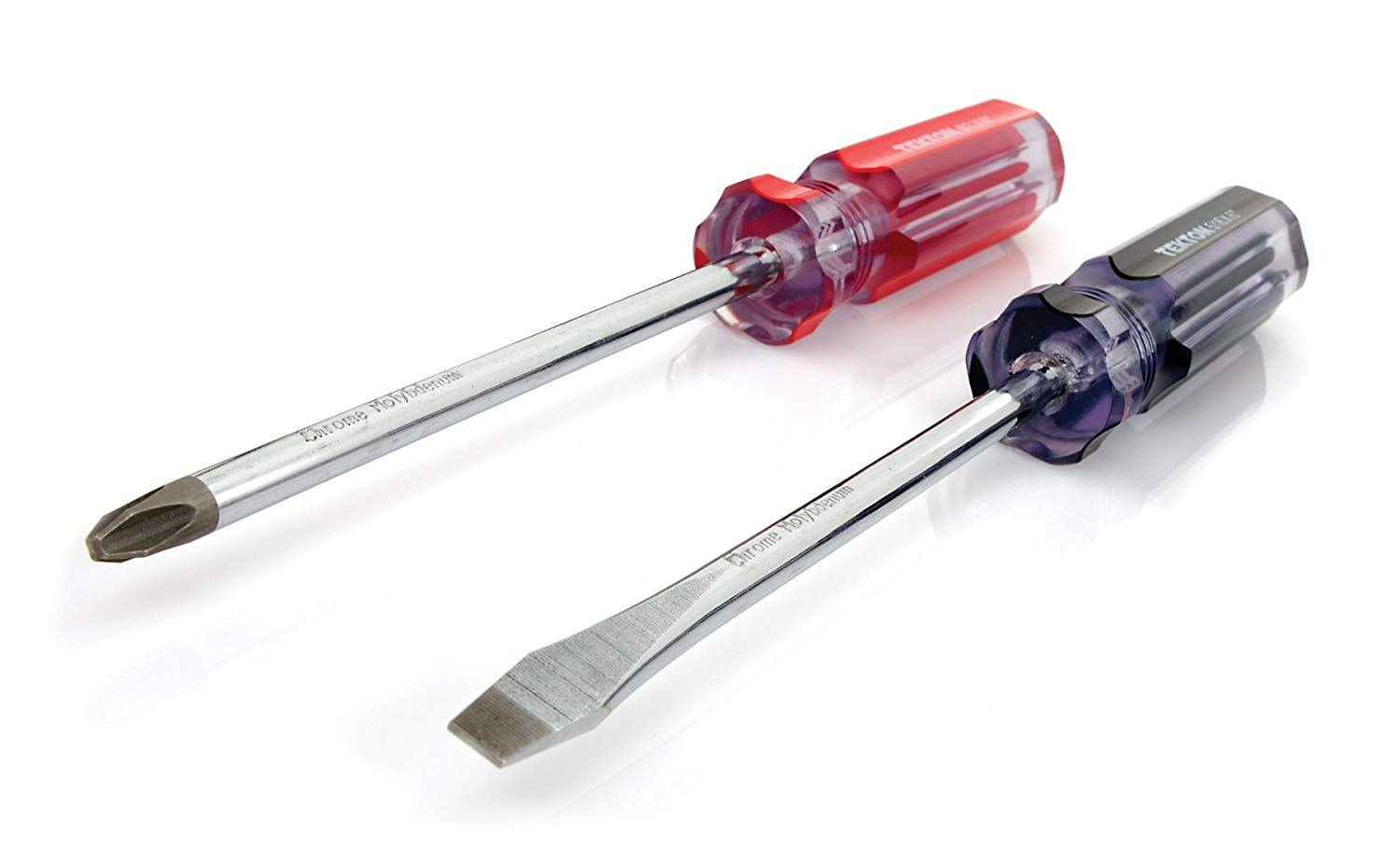 Phillips and flathead screwdriver