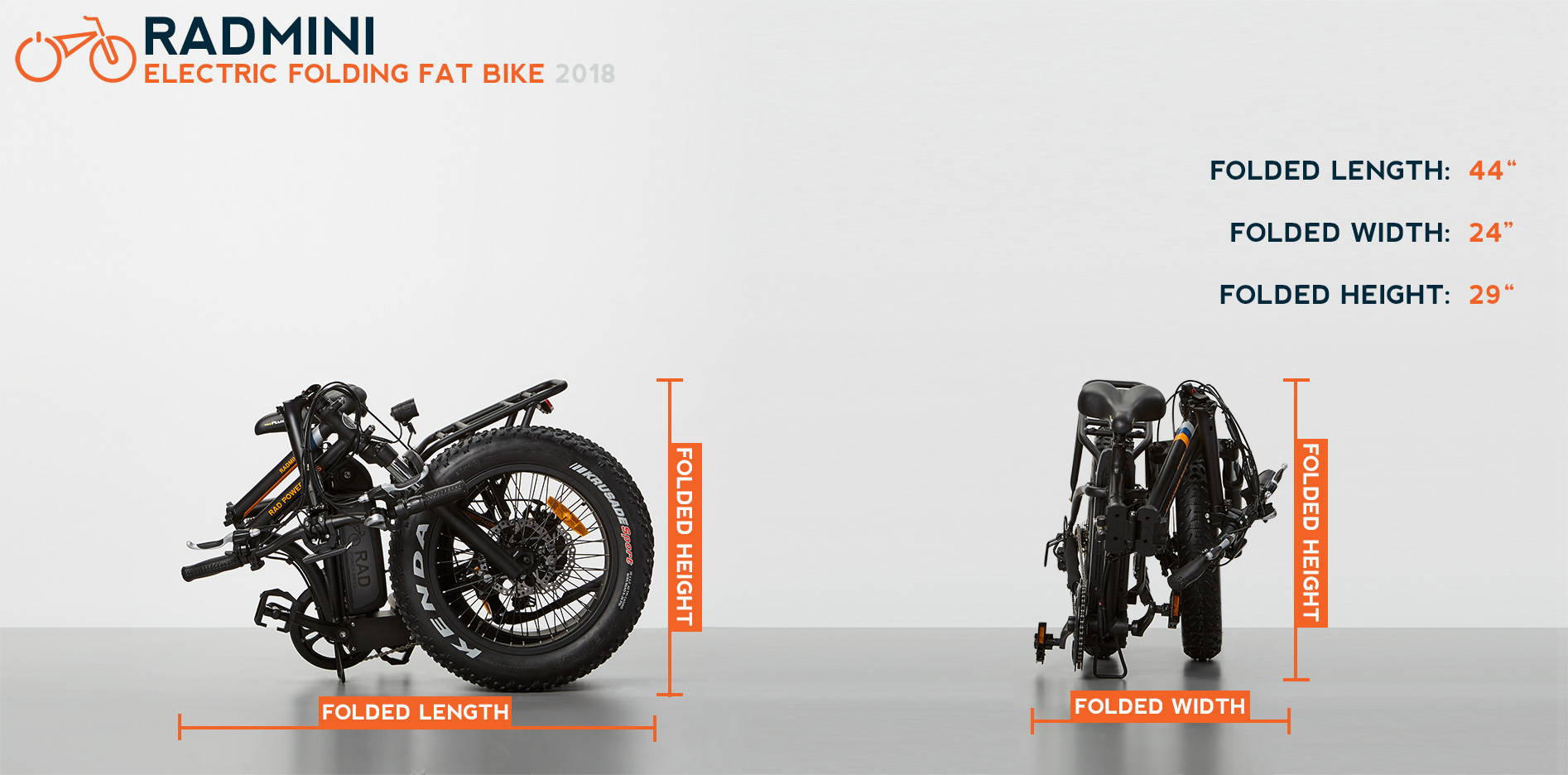 Radmini Electric Folding Fat Bike Rad Power Bikes Pocket Wiring Charging Port Free Image About Diagram And Sizing Chart