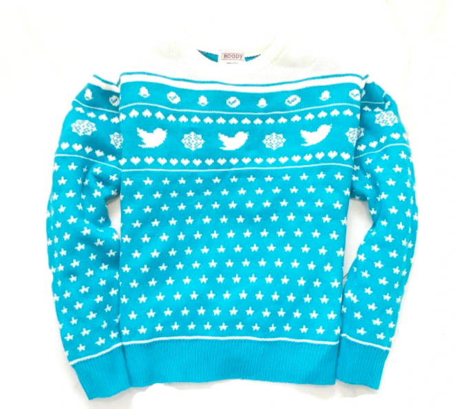 Twitter Best Christmas Sweater