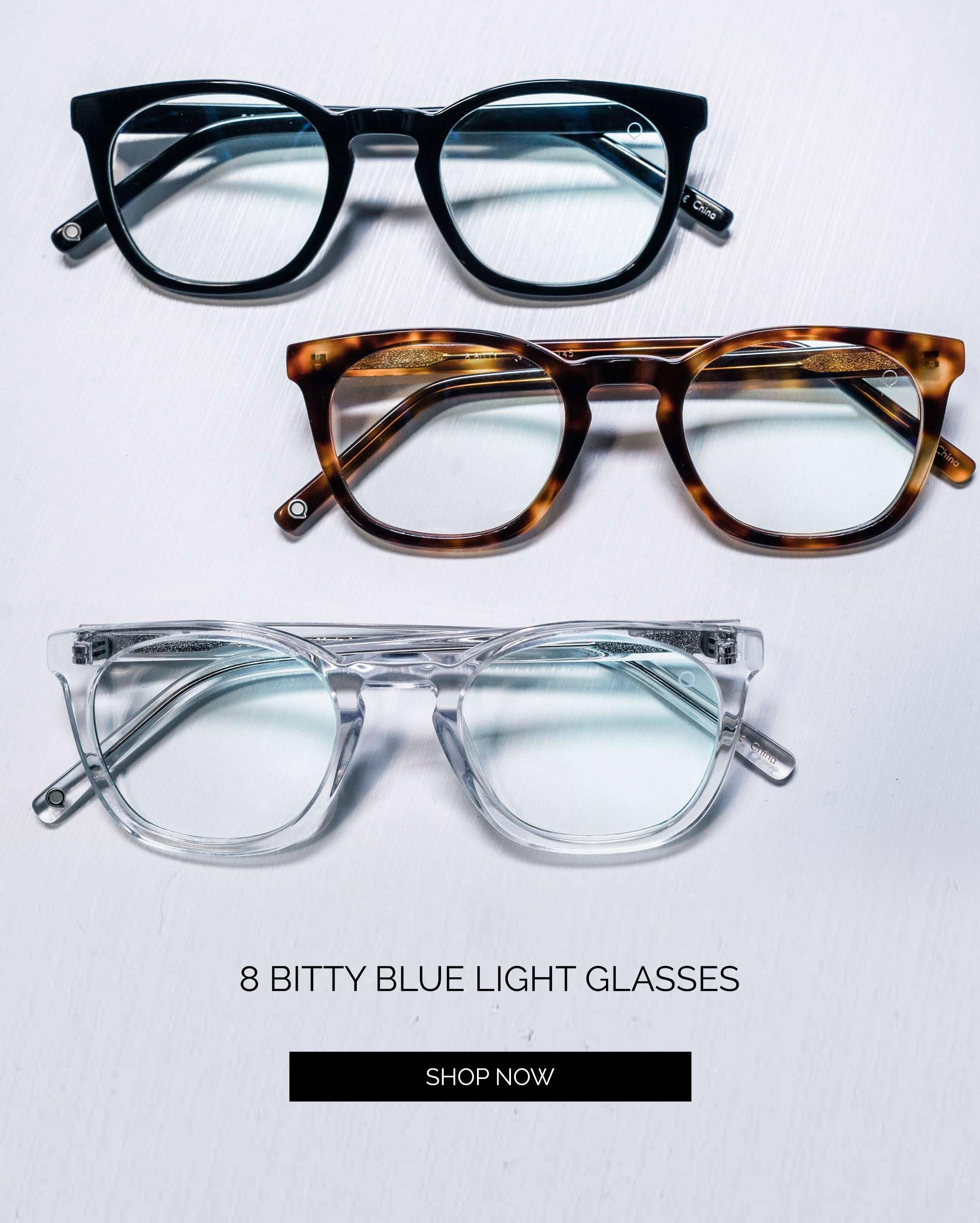 8 Bitty Blue Light Glasses