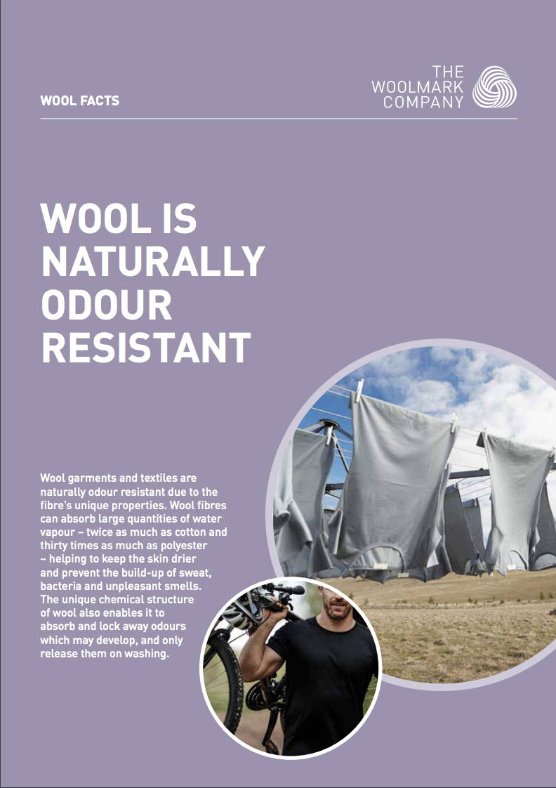 woolmark odor resistant