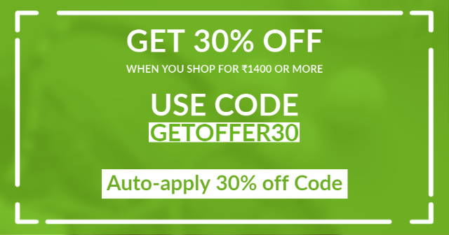 Get 30% off when you use the code GETOFFER30