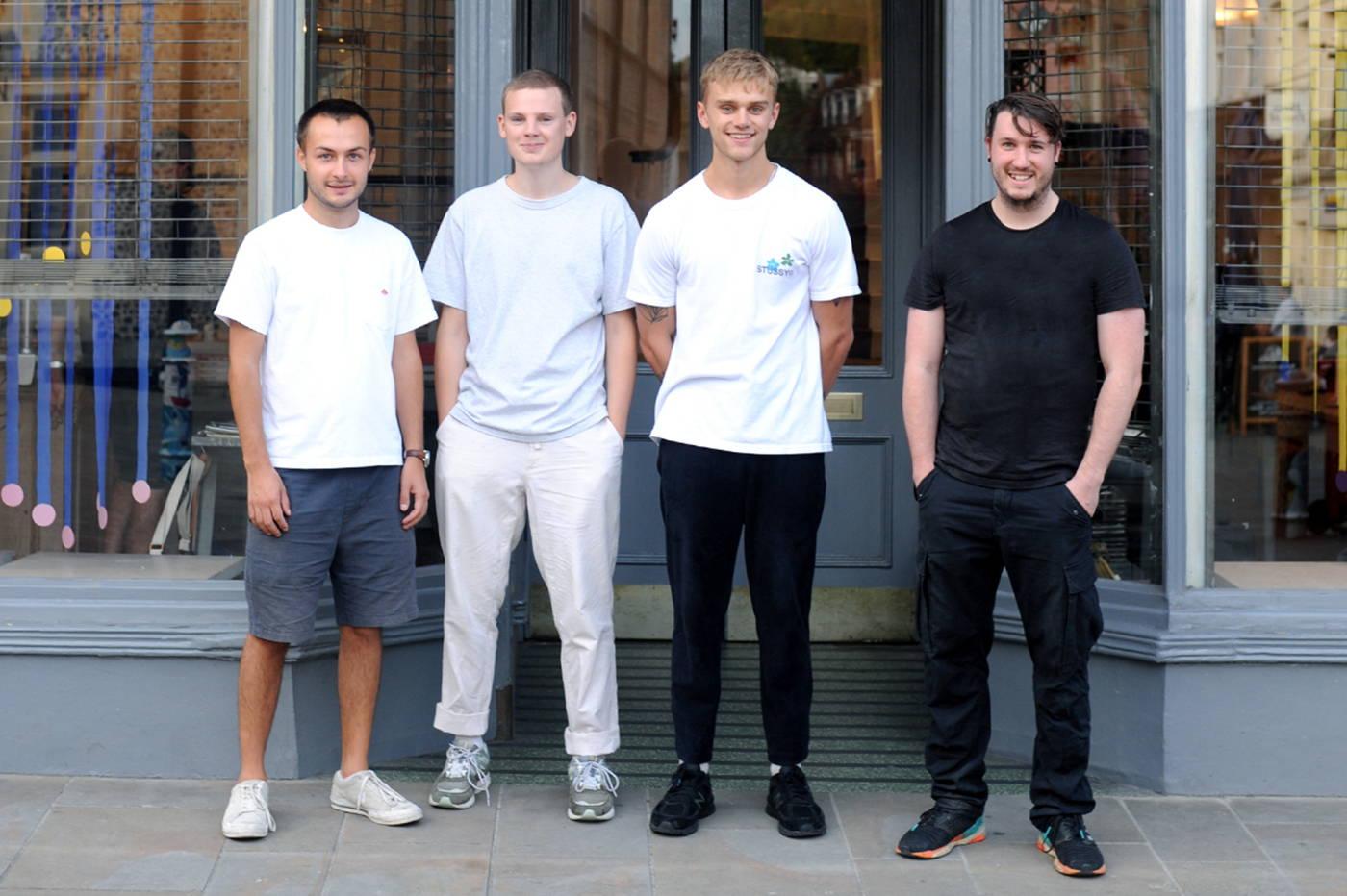 The Sonder film crew