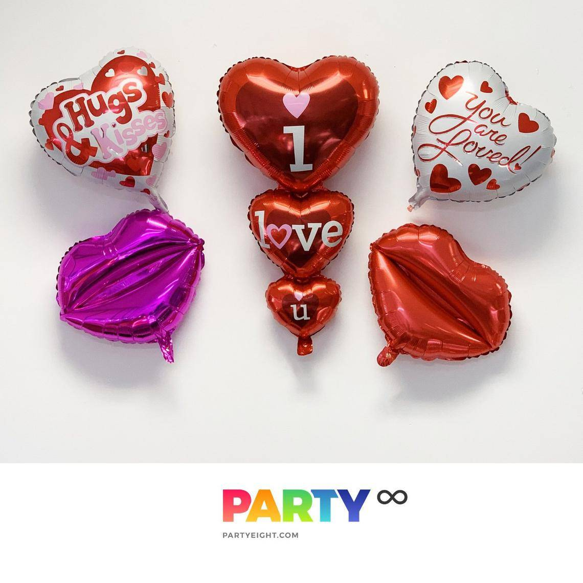 Valentine's Day Decorations Ideas Balloons | Valentine's Day Balloon Bouquet for Valentine's Day/Engagement Party/Wedding Decorations