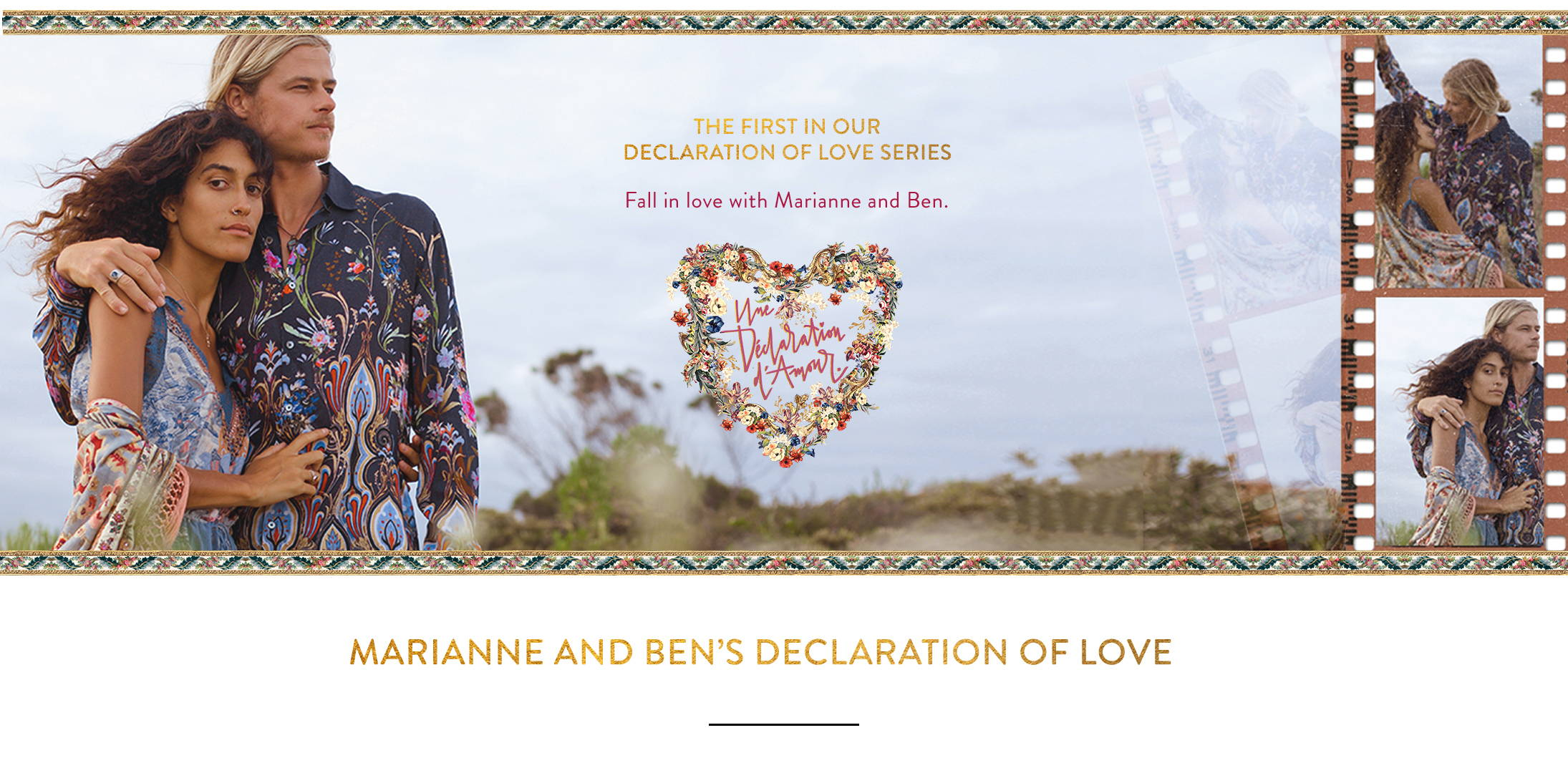 Une Declaration of Love