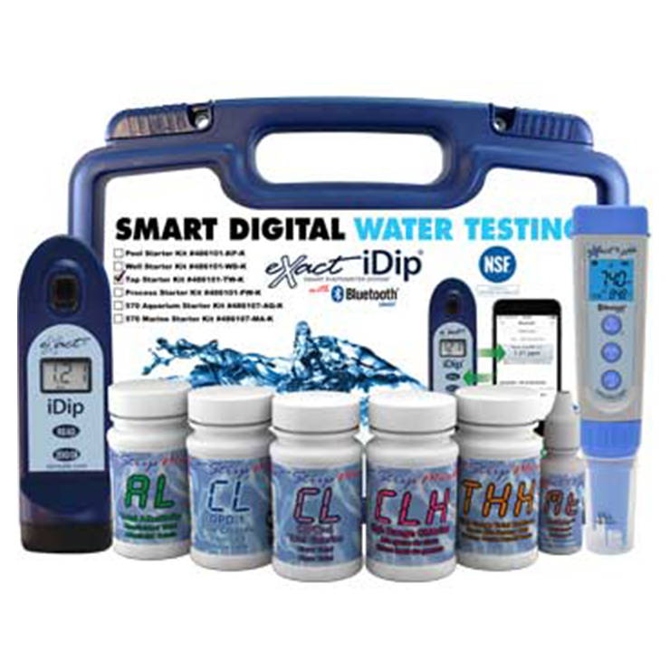 iDip Tap Water professional kit and components
