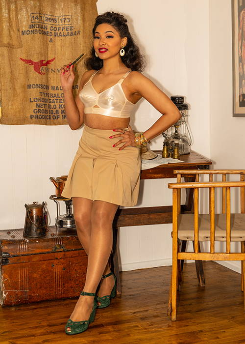 Vintage Style | Safari Inspired 1950s  Fashion and Lingerie