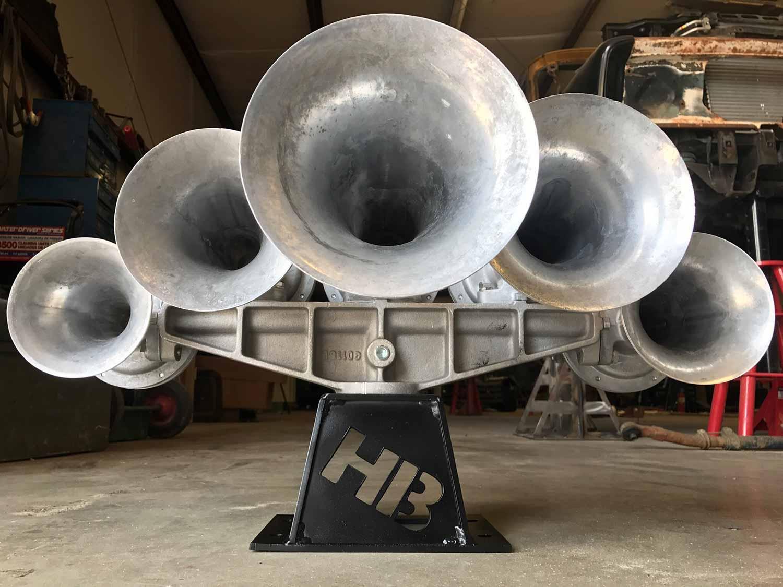 HornBlasters Nathan Airchime K5LA Train Horn