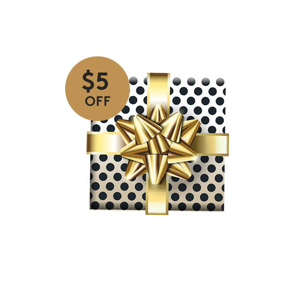 Click around the site to find $5Holiday Coupon!