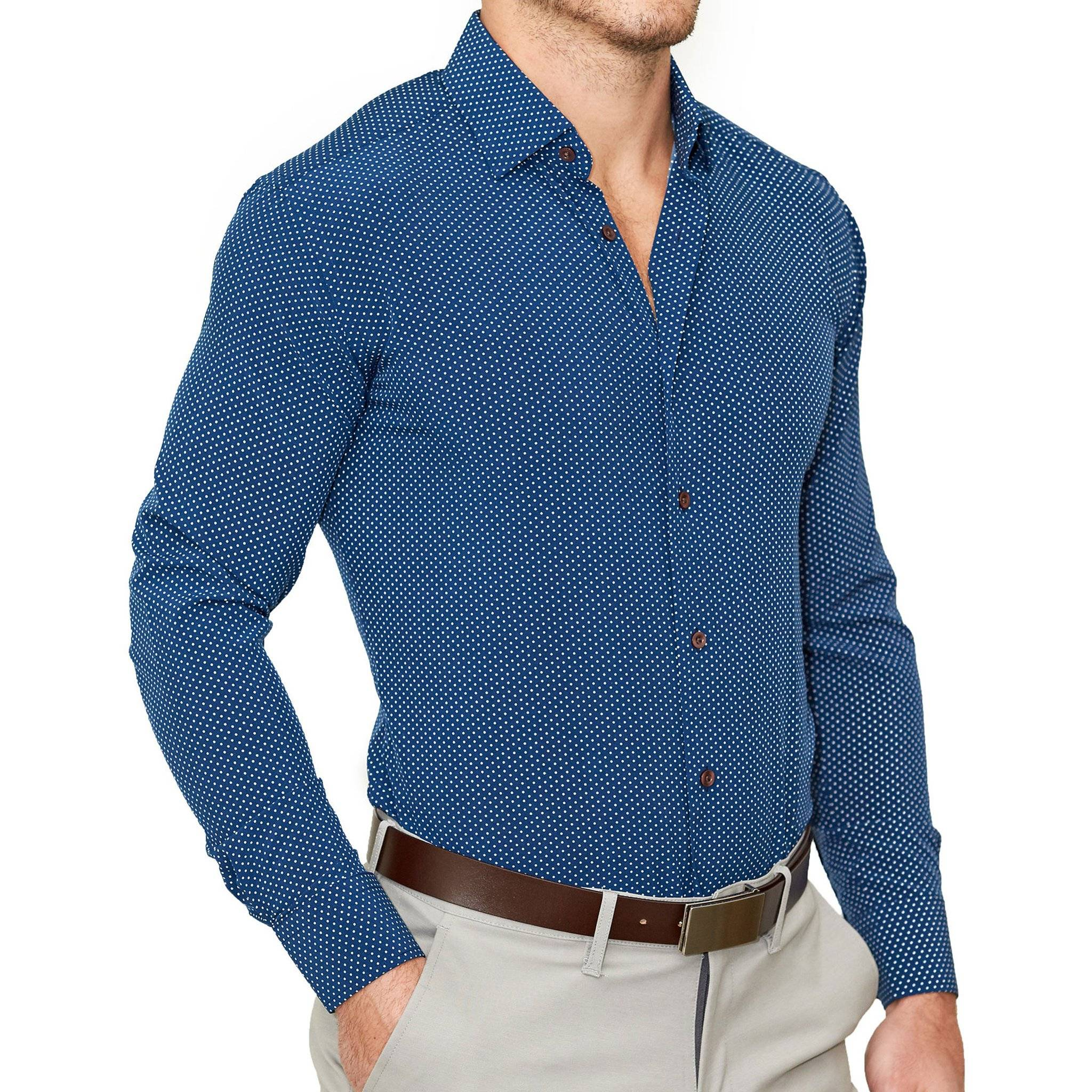 477a655ff4e State and Liberty Athletic Fit Dress Shirts