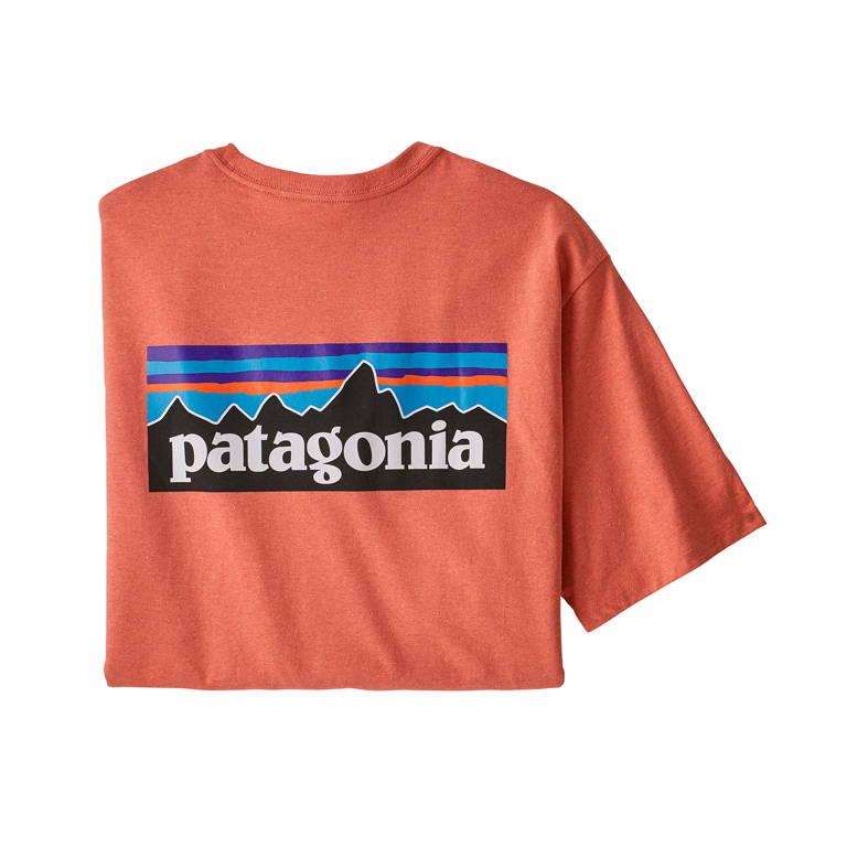 patagonia(パタゴニア)/P-6ロゴ レスポンシビリティー/ピンク/MENS