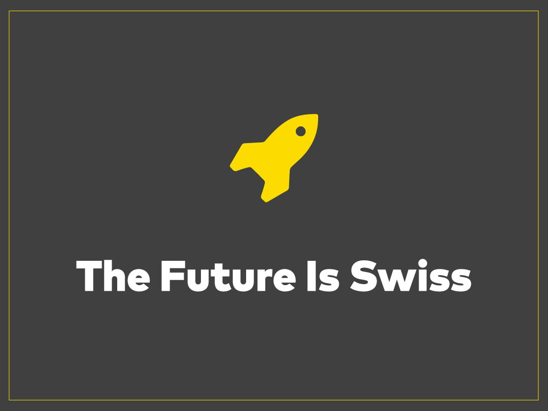 The Future is Swiss Capable of handling even the most original ideas and delivering dependable results, our new swissQprint press has made our wide format offering the best in the country.