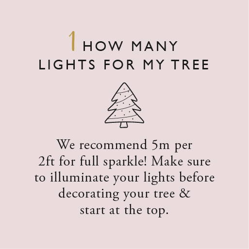 How many lights for my tree