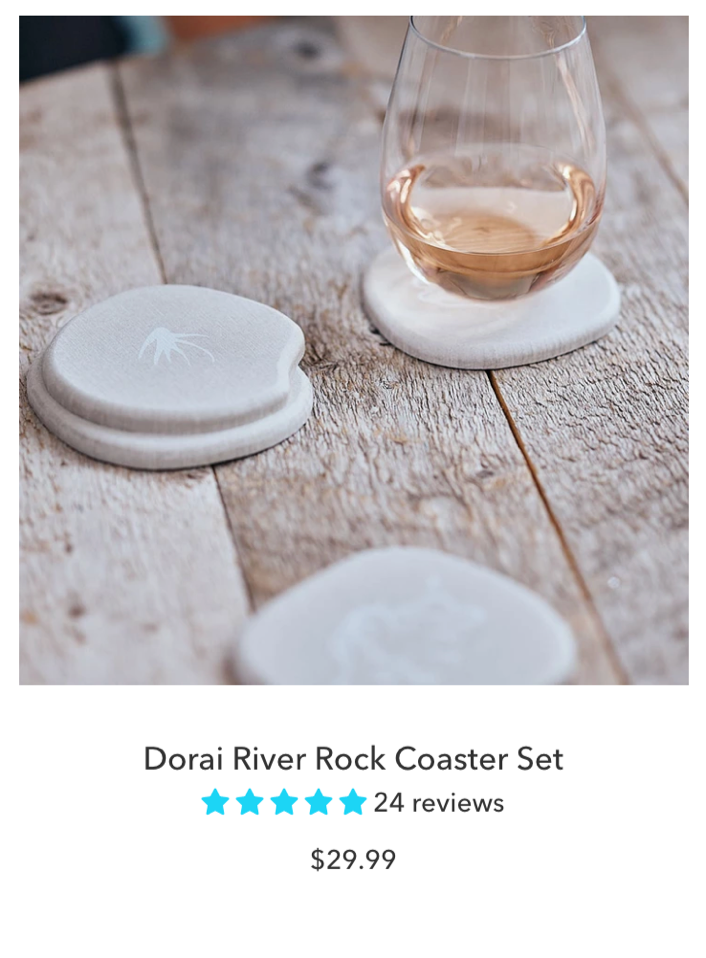 Dorai Modern Coaster Set