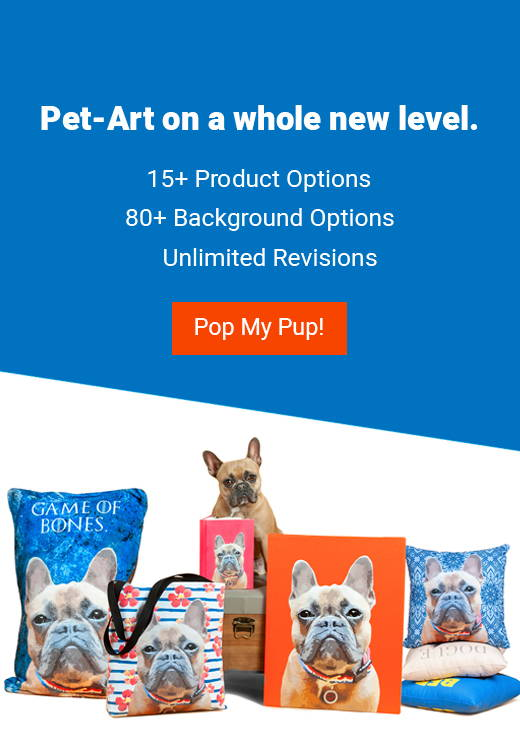Dog Art & Cat Art | Custom Pet Pop Art | Pop Your Pup!
