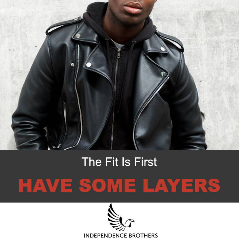 Find the right fit of your leather jacket
