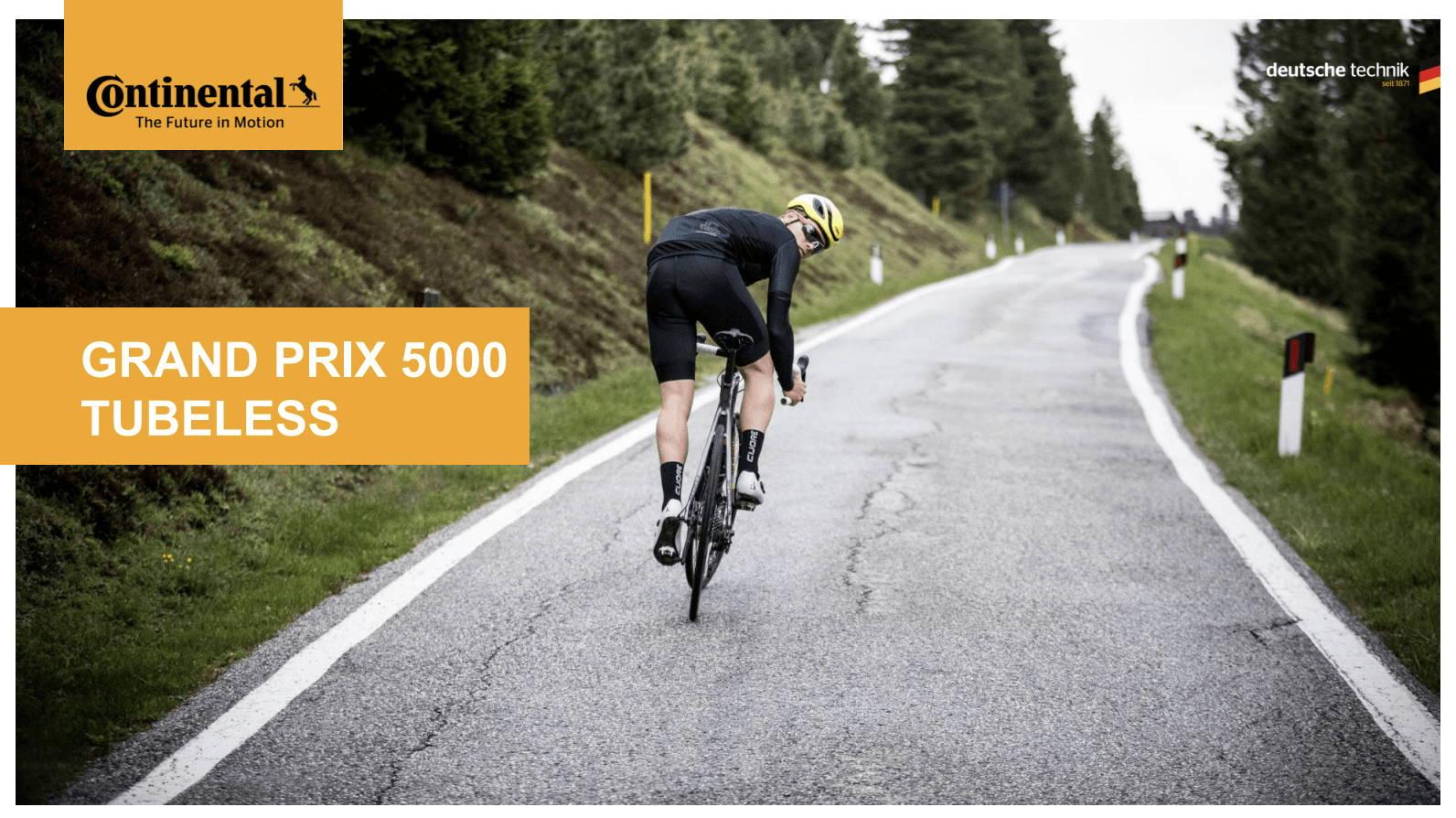 Continental GP 5000 Tubeless - Bicicletta