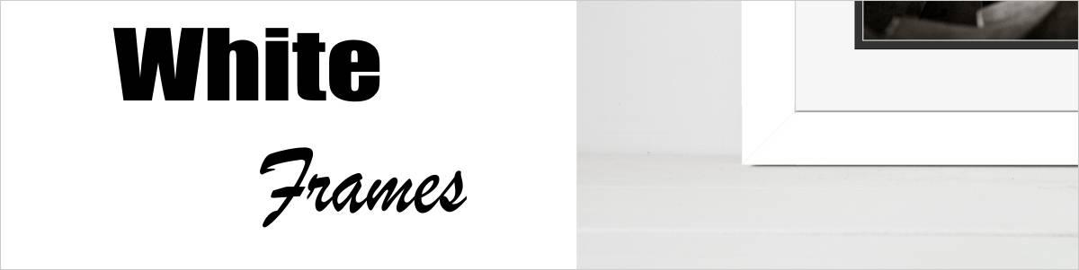 white frames banner image