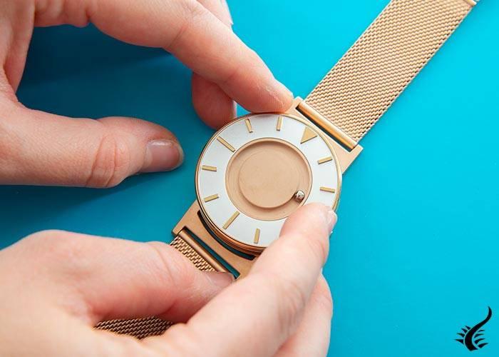 Reloj de Cuarzo Eone Bradley Mesh Rose Gold, 40 mm, Malla milanesa, BR-RO-GLD