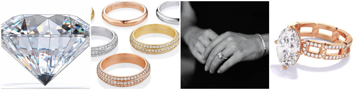 Lindsey Scoggins Studio rings and diamonds