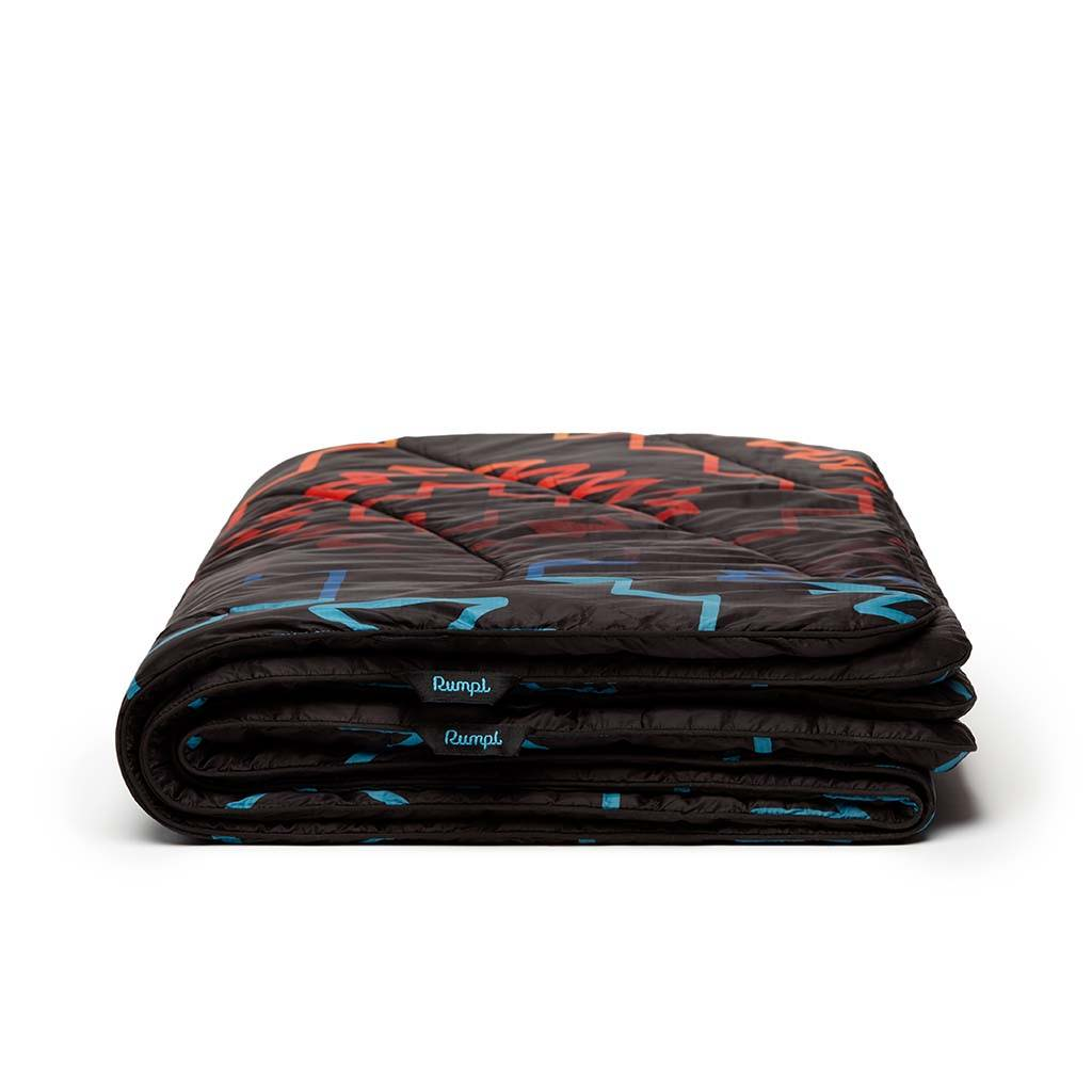 Rumpl x Iron and Resin Last Ride Original Puffy Blanket Lightweight Throw