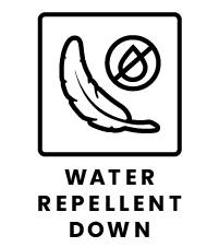 Water Repellent Down Icon