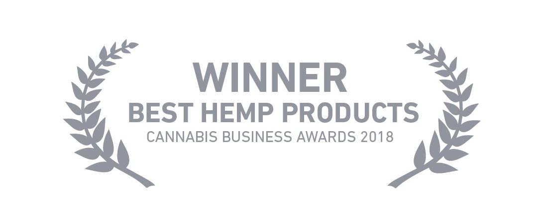 Best hemp products 2018 award
