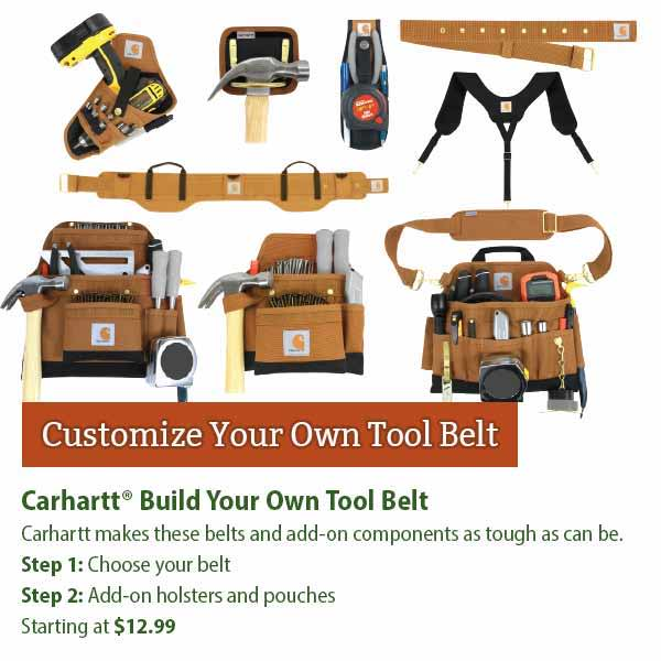 Carhartt Build Your Own Tool Belt