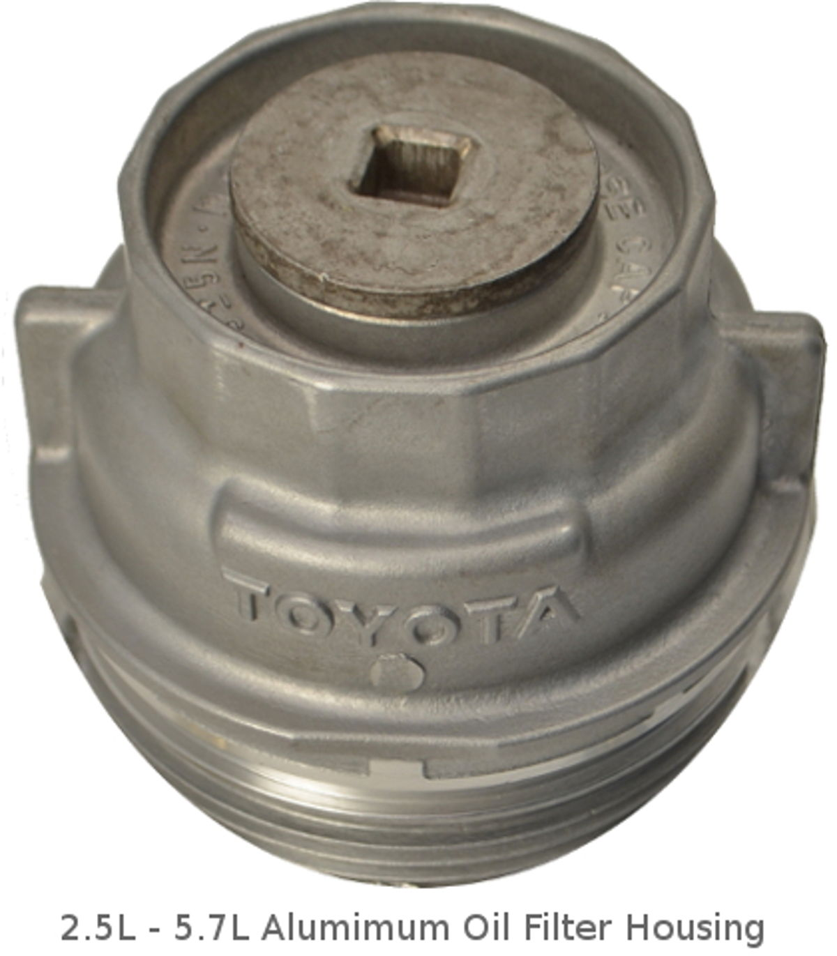 2.5L - 5.7L toyota aluminum oil filter housing
